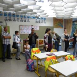 Hewenschule - Einschulungsfeier - Eltern