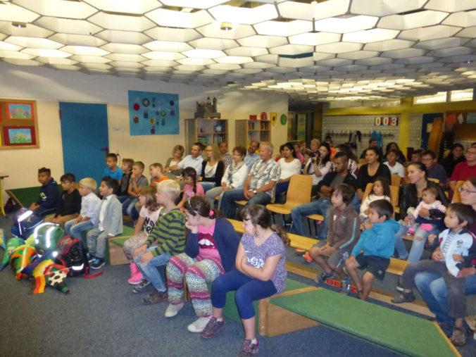 Hewenschule - Einschulungsfeier - Publikum