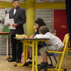 Hewenschule - Abschlussfeier Theatergruppe