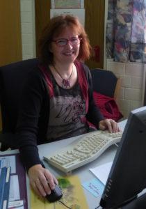 Sekretärin Tabea Schmidt
