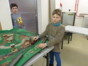 Projekt Modelleisenbahn